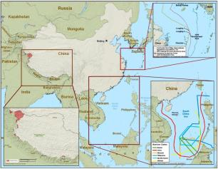 Chinese territorial disputes