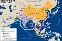 Oil sea highways