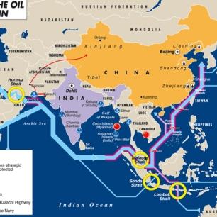 Oil sea highways