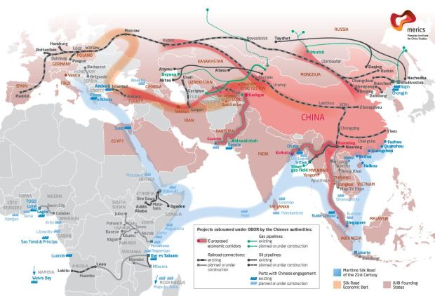China silk road One Road One Belt policy